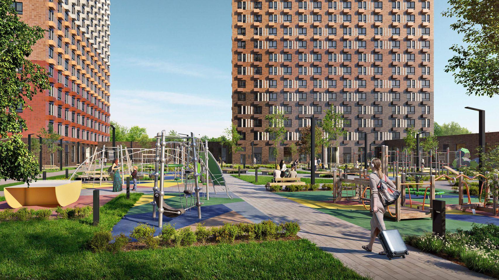 Вжилом комплексе «Большая Очаковская 2» построят детский сад