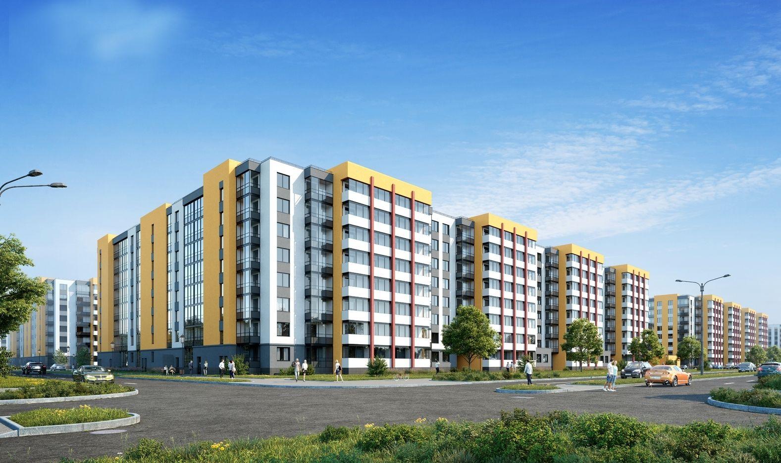 Началось строительство последних корпусов «Солнечного города»